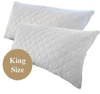 1 X Easyrest King Size Pillow Protector 52 X 92cm Home Comforts